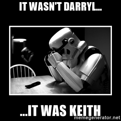 It was Keith